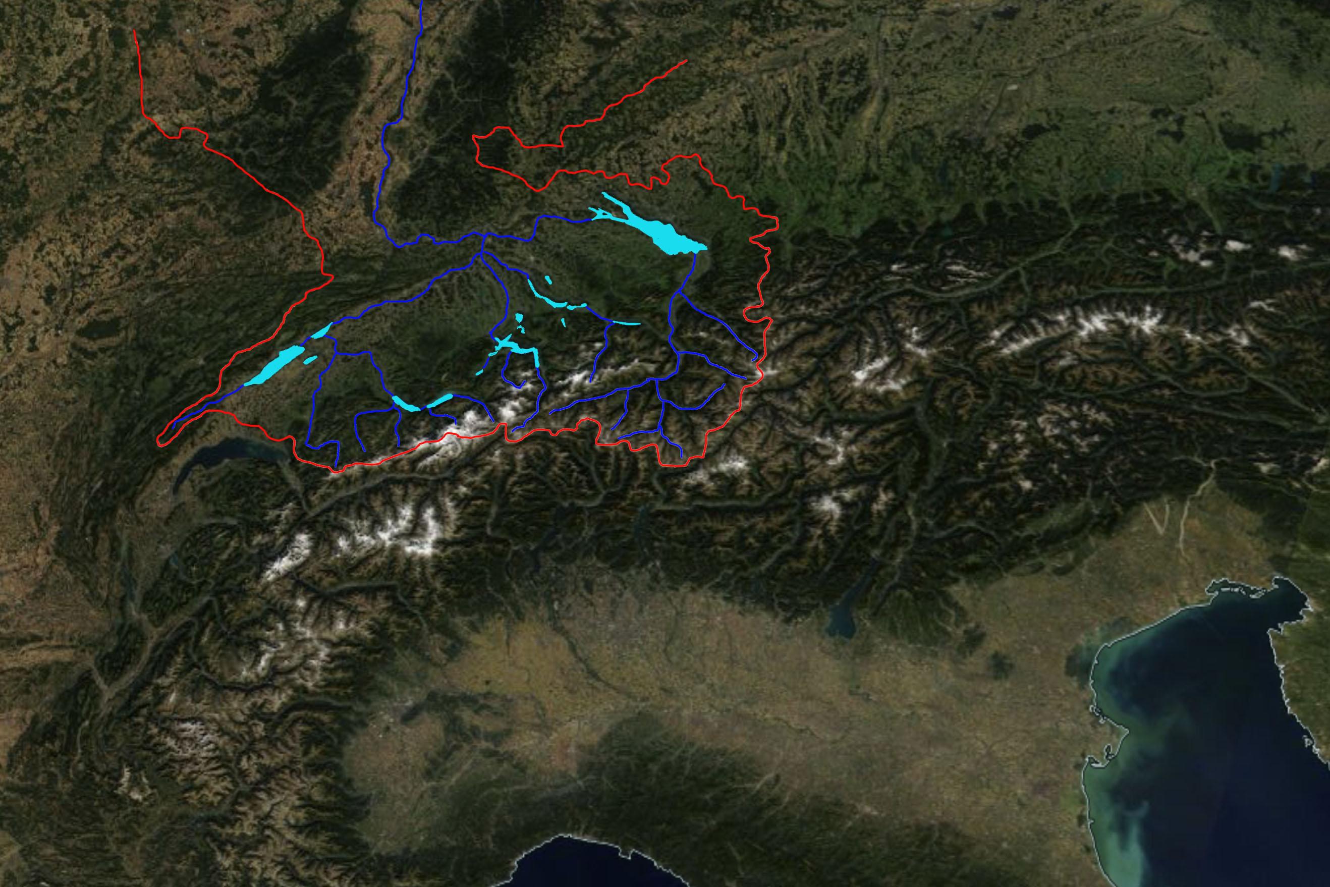 Sneeuwbedekking Alpen eind september 2018