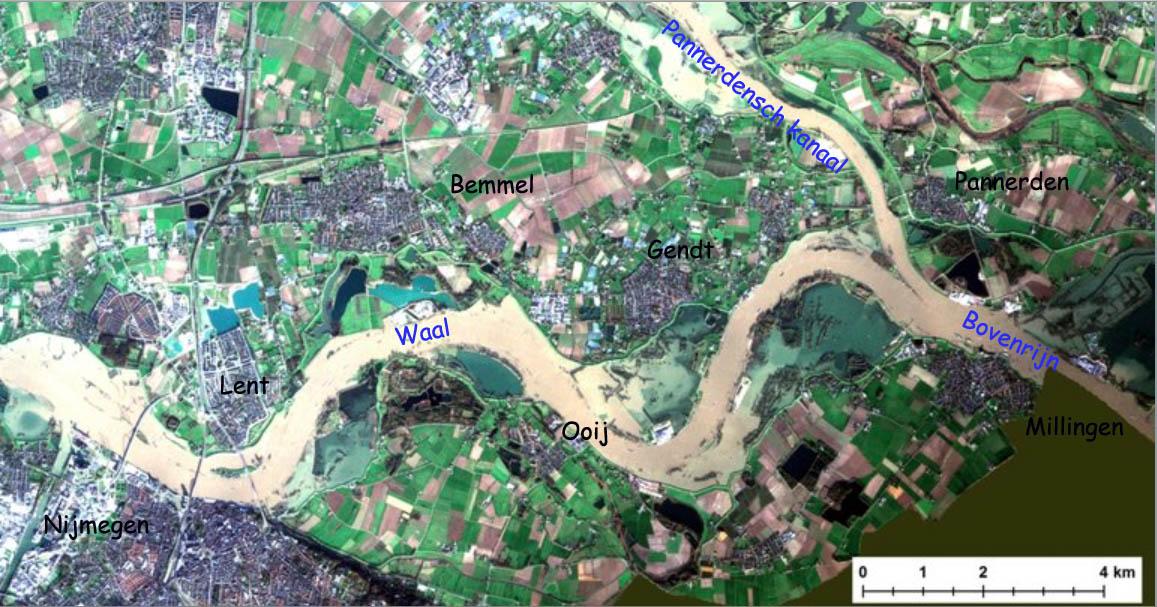 De rivieren in de Gelderse Poort